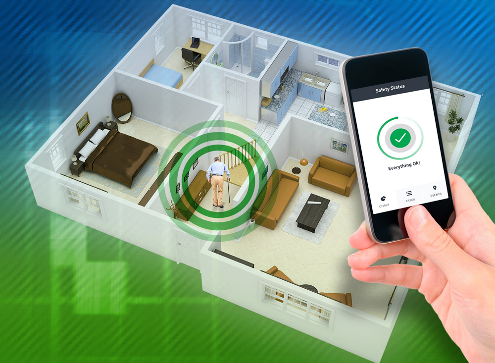 Caring from Afar: Guide to Home Sensor Systems   Tech-enhanced Life