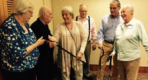 Cane with light: Older adult explorers testing lighted canes