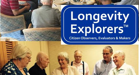 Longevity Explorers roll up their sleeves
