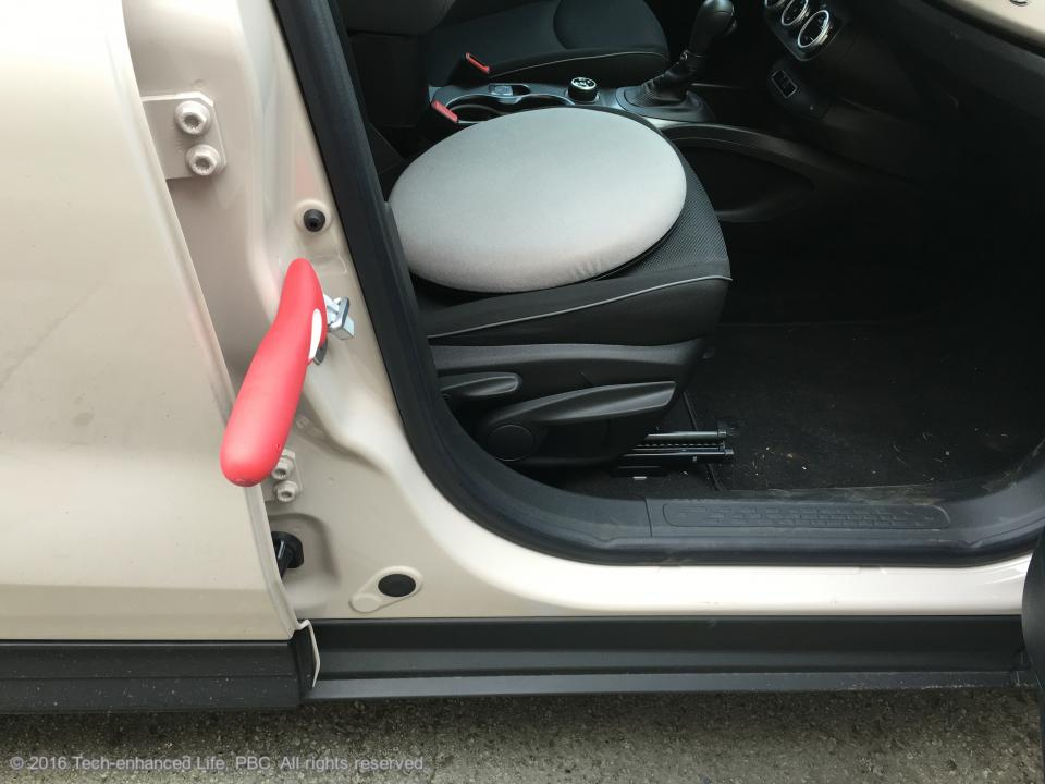 Swivel Car Seat For Elderly Handle