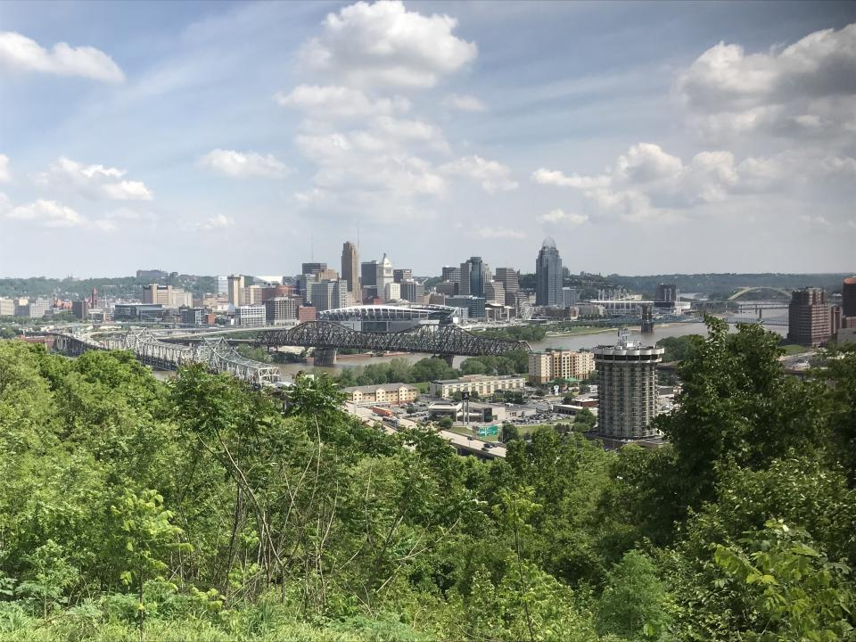 Cincy Skyline, May 2019