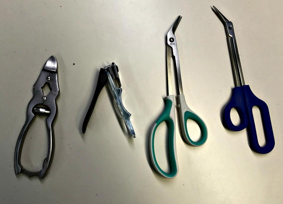 Explorers' Field Report on Use of Toenail Clippers