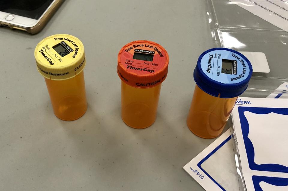Pill Bottle Timer Caps @SF