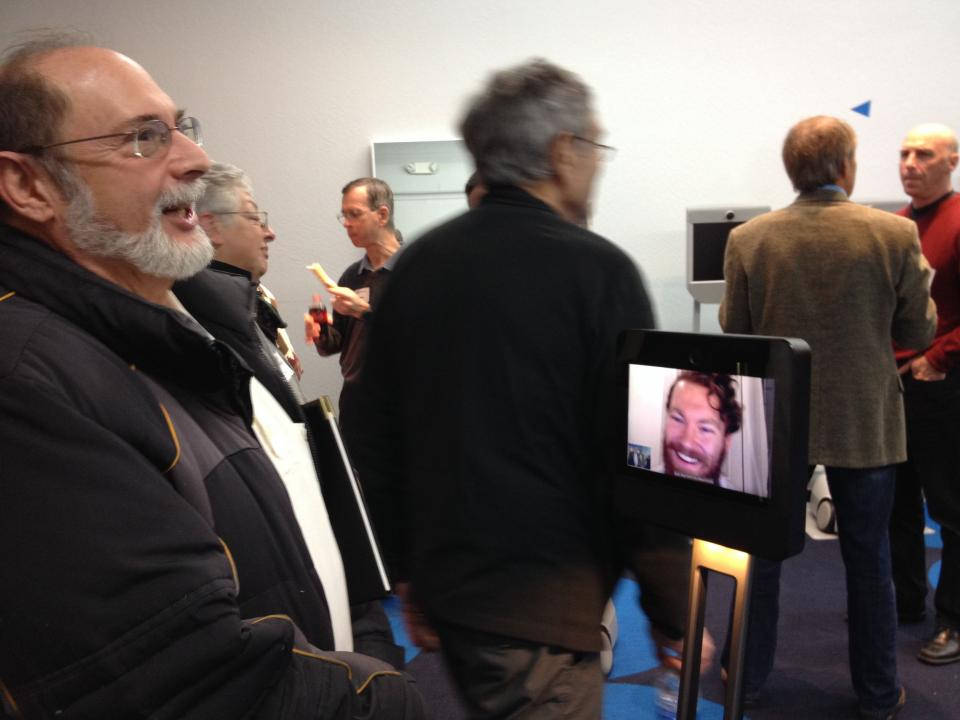Telepresence Robots - our future connections?