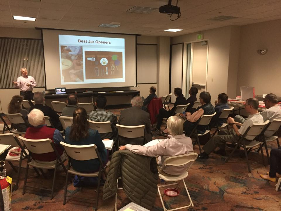 Aging in Place MeetUp - February 24, 2016