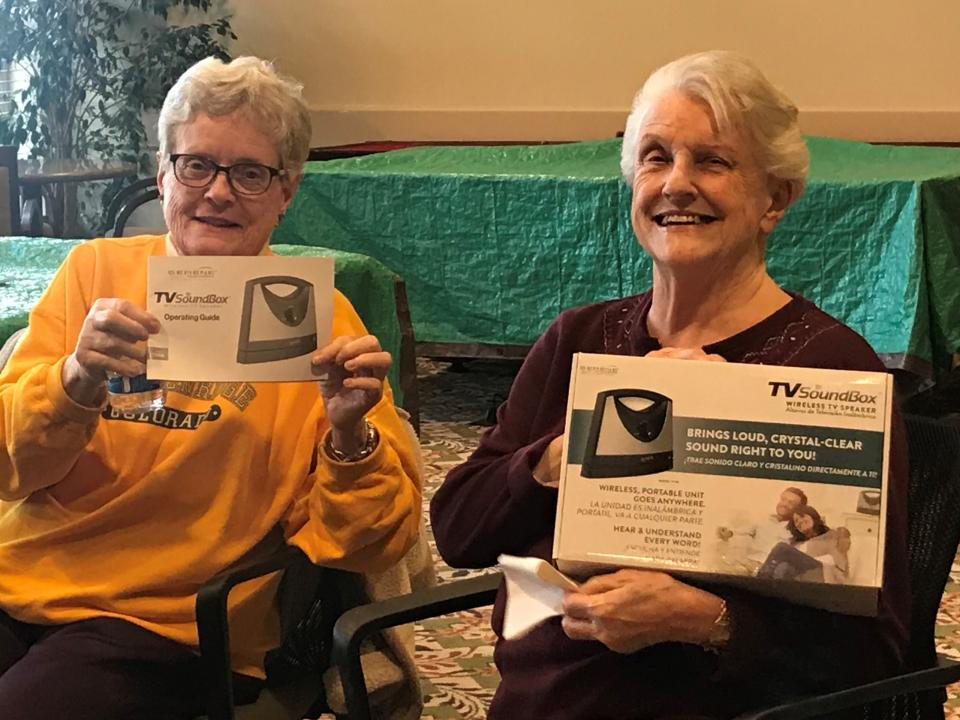 Passavant Circle members are evaluating a new TV Soundbox
