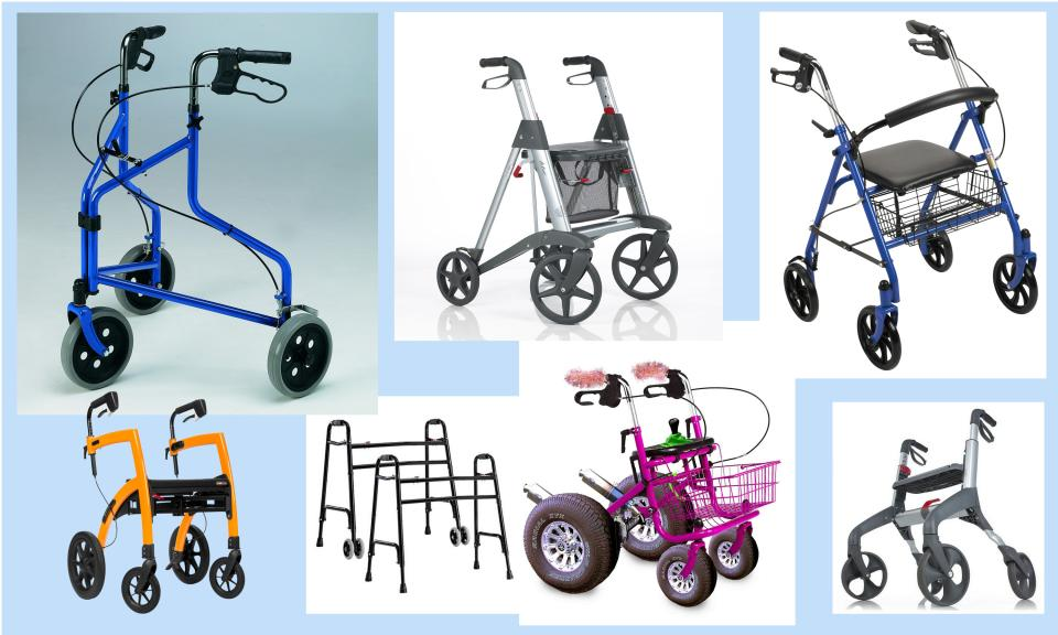 Video presentation: what features matter in a rollator (walker)?