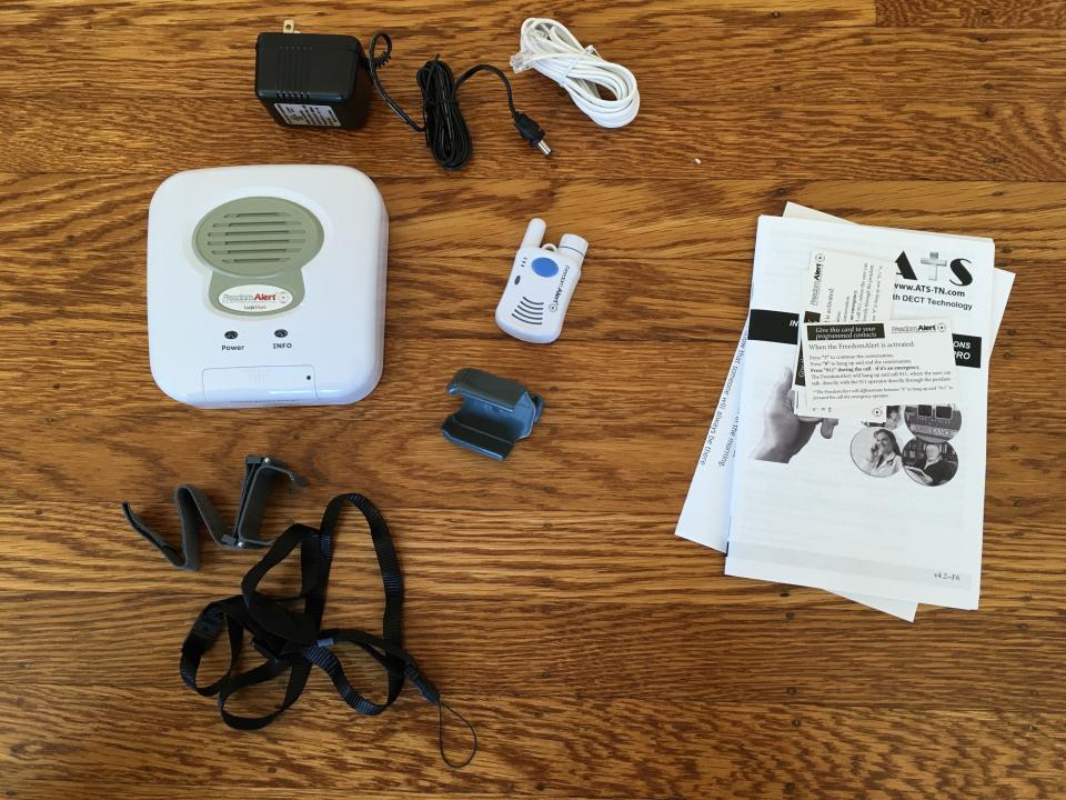 Freedom Alert Review, unpacking