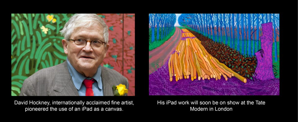 iPad Art, David Hockney
