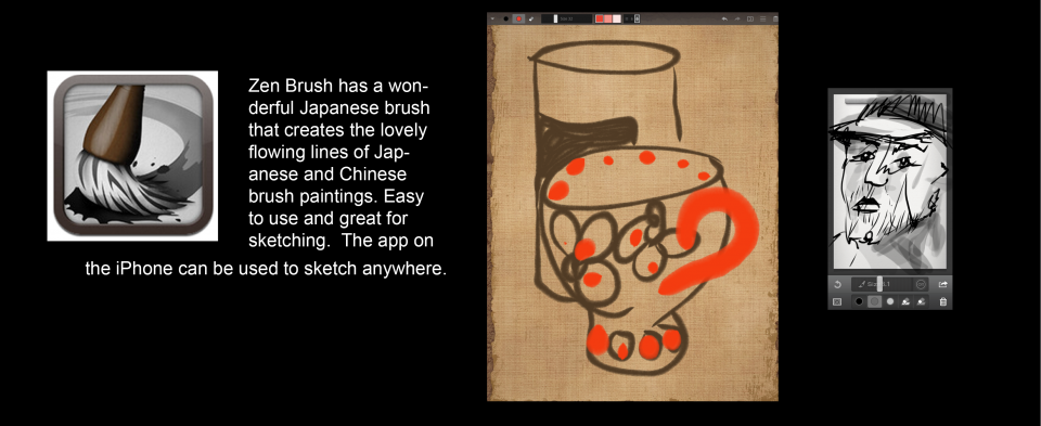 Zen Brush iPad Art App