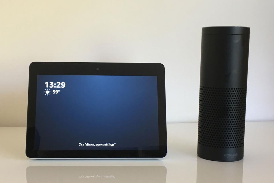 Amazon Echo Show: Older Adults Explore | Tech-enhanced Life