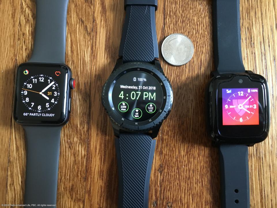 Smartwatches compared as medical alerts