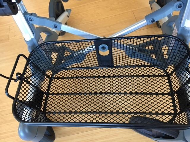 Volaris Rollator Basket Closeup