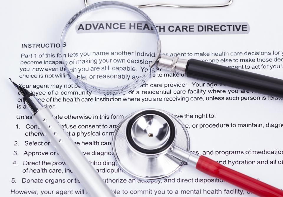 Advance Healthcare Directive Form