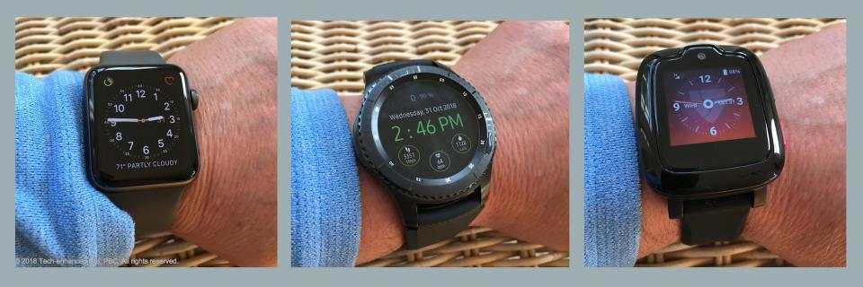 Smartwatch as medical alert device