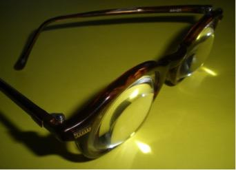 High powered reading glasses