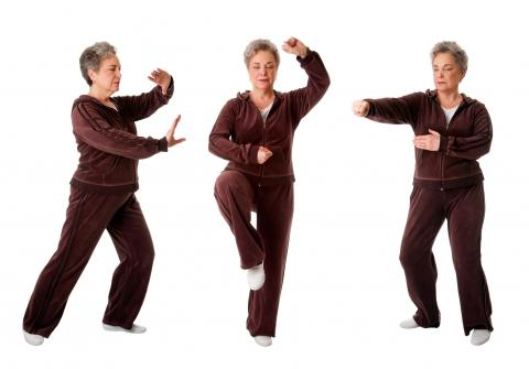 Fall prevention exercises for seniors