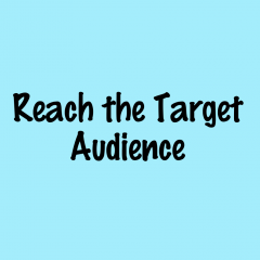 Reach your target customers