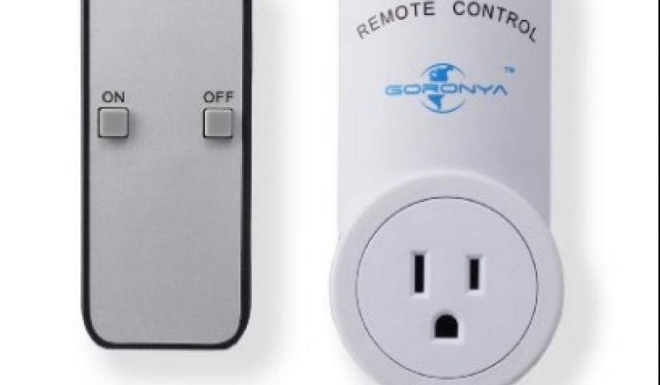 wireless remote outlet switch