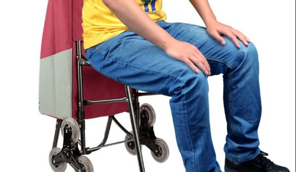 Stair Climbing Cart with Seat
