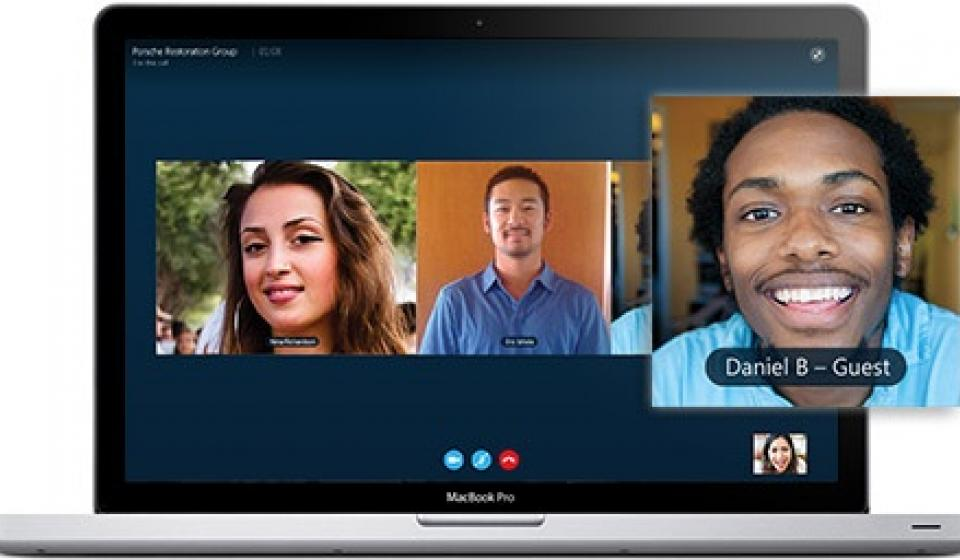 Skype, video chat